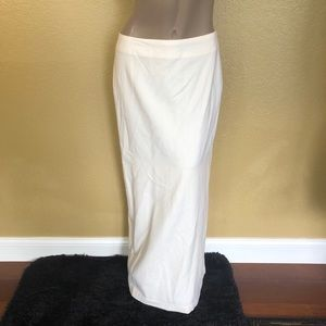 Talbots Long Wool Skirt with Slit